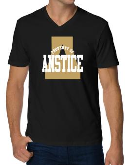 Property Of Anstice V-Neck T-Shirt