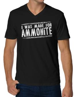 I Was Made For Ammonite V-Neck T-Shirt