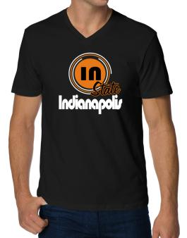 Indianapolis - State V-Neck T-Shirt