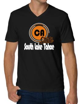South Lake Tahoe - State V-Neck T-Shirt