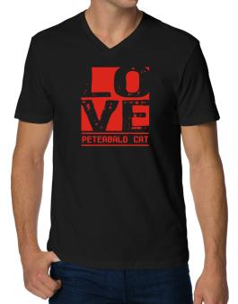 Love Peterbald V-Neck T-Shirt