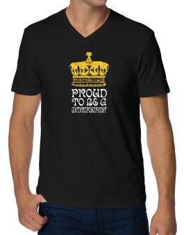 Proud To Be An Anthroposophist V-Neck T-Shirt