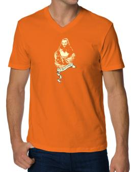 """"""" The lost years - Jesus """" V-Neck T-Shirt"""
