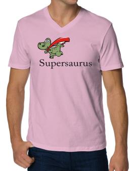 Polo Cuello V de Super Saurus