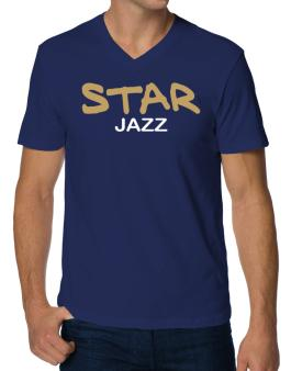 Star Jazz V-Neck T-Shirt