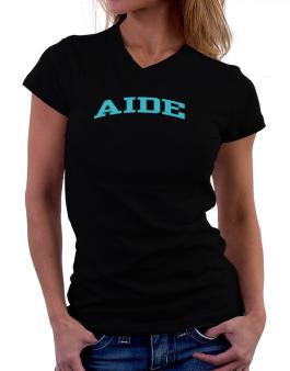 Aide T-Shirt - V-Neck-Womens