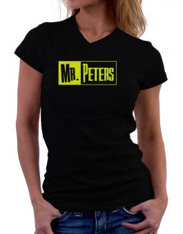 Mr. Peters T-Shirt - V-Neck-Womens
