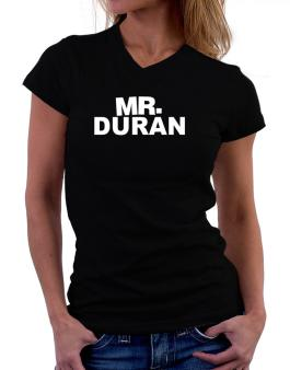 Mr. Duran T-Shirt - V-Neck-Womens