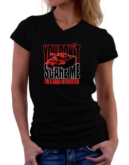 Dont Scare Me T-Shirt - V-Neck-Womens