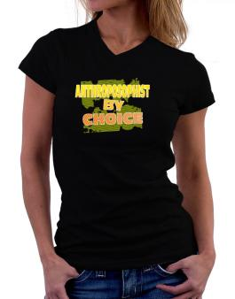 Anthroposophist By Choice T-Shirt - V-Neck-Womens
