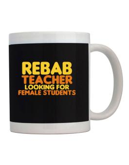 Rebab Teacher Looking For Female Students Mug