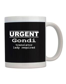 Urgent - Female Gondi Translator Required Mug