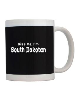Kiss Me, I Am South Dakotan Mug