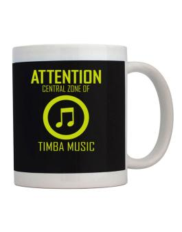 Attention: Central Zone Of Timba Music Mug