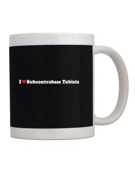 I Love Subcontrabass Tubists Players Mug