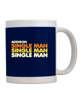 Addison Single Man Mug