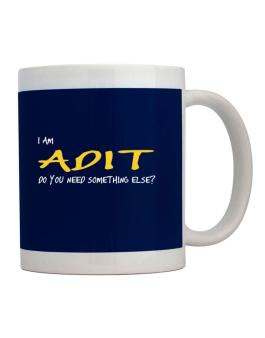 I Am Adit Do You Need Something Else? Mug