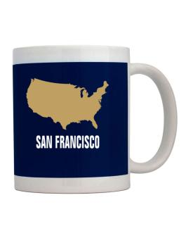 San Francisco - Usa Map Mug