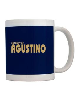 Property Of Agustino Mug