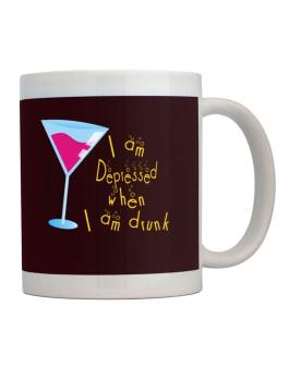 I Am Depressed When I Am Drunk Mug