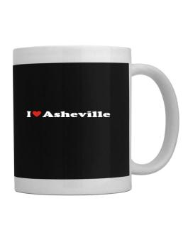 I Love Asheville Mug