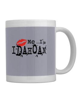 Kiss Me, Im Idahoan - Lips Mug