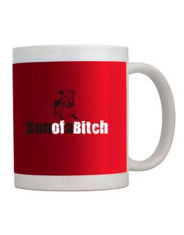 Son Of A Bitch - Silhouette Mug