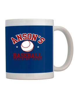 Ansons Baseball Training Camp Mug