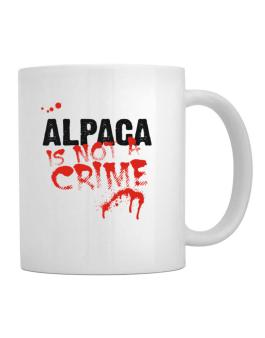 Being A ... Alpaca Is Not A Crime Mug