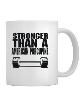 Stronger Than An American Porcupine Mug