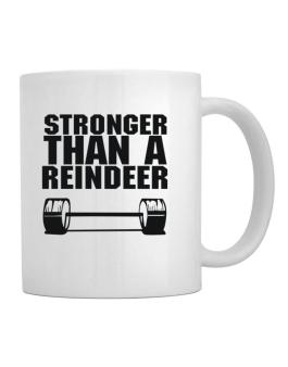 Stronger Than A Reindeer Mug