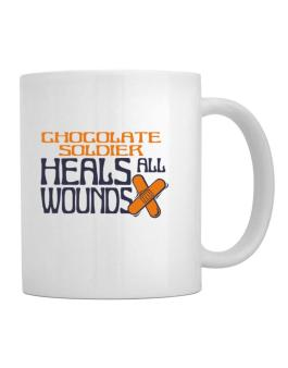 Chocolate Soldier Heals All Wounds Mug
