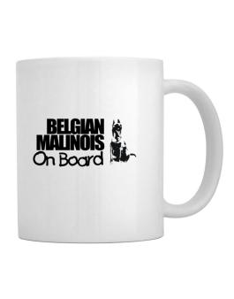 Taza de Belgian Malinois On Board