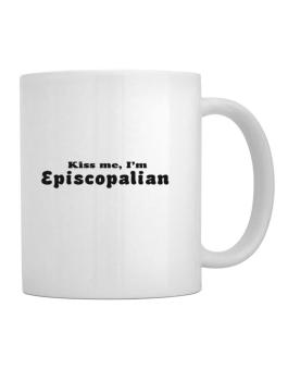 Kiss Me, Im Episcopalian Mug