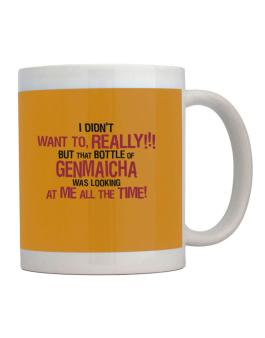 I Didnt Want To, Really! But That Bottle Of Genmaicha Was Looking At Me All The Time! Mug
