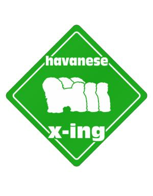Crossing Sign de Havanese X-ing / Xing Iii