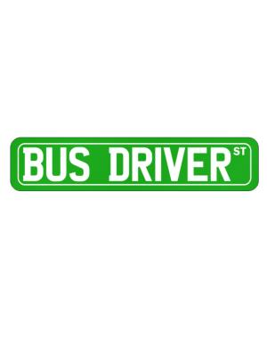 Street Sign de Bus Driver St