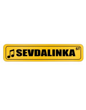 Street Sign de Sevdalinka Street Sign