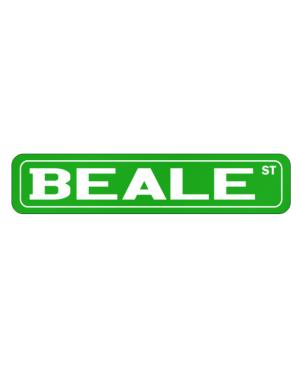 Street Sign de Beale Street men names sign