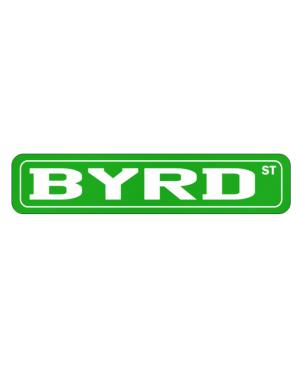Street Sign de Byrd Street men names sign