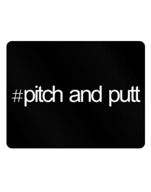 Hashtag Pitch And Putt Parking Sign - Horizontal