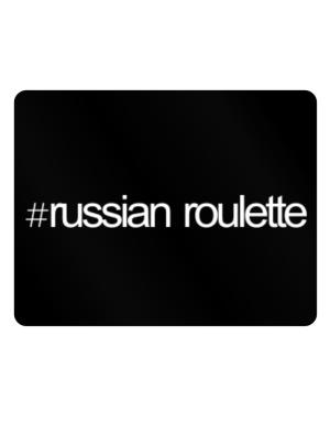 Hashtag Russian Roulette Parking Sign - Horizontal