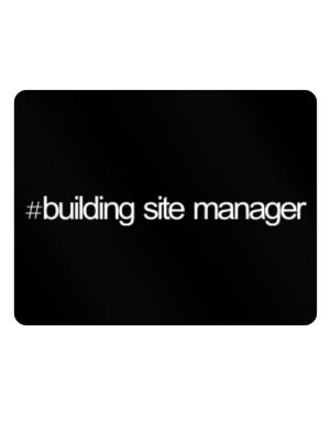 Hashtag Building Site Manager Parking Sign - Horizontal