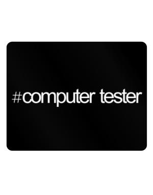 Hashtag Computer Tester Parking Sign - Horizontal