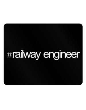 Hashtag Railway Engineer Parking Sign - Horizontal