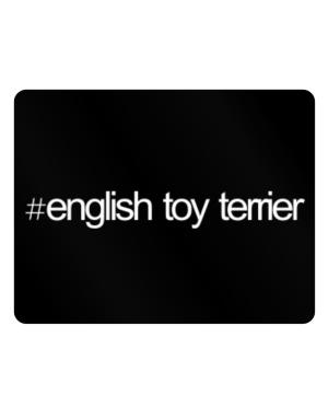 Hashtag English Toy Terrier Parking Sign - Horizontal