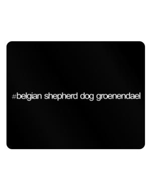 Hashtag Belgian Shepherd Dog Groenendael Parking Sign - Horizontal