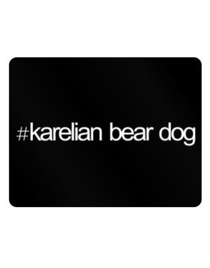 Hashtag Karelian Bear Dog Parking Sign - Horizontal