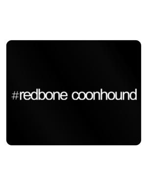 Hashtag Redbone Coonhound Parking Sign - Horizontal