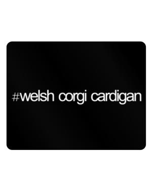 Hashtag Welsh Corgi Cardigan Parking Sign - Horizontal